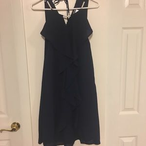 Cocktail Navy blue dress